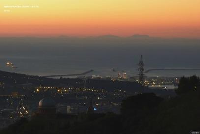 Mallorca as seen from Barcelona