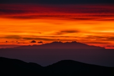 Canigo as seen on sunset