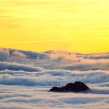 Clouds' sea